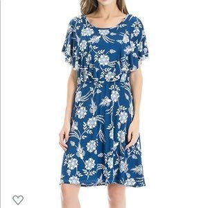 Floral nursing dress